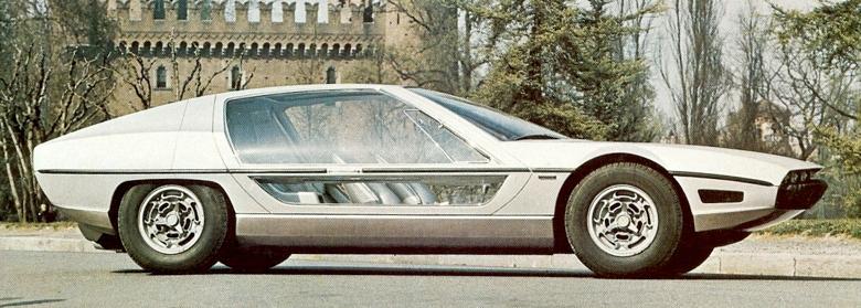 italiski automobiliai, 1967 Bertone Lamborghini Marzal