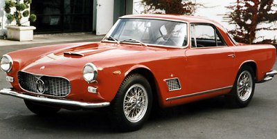 3500GT Maserati italiski automobiliai