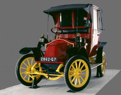 prancūziškas automobilis Taxi de la Marne 1905
